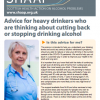 Updated Guidance: COVID-19: Advice for heavy drinkers who are thinking about cutting back or stopping drinking alcohol